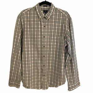 J Crew Jaspe Slim Button Down Men's Shirt